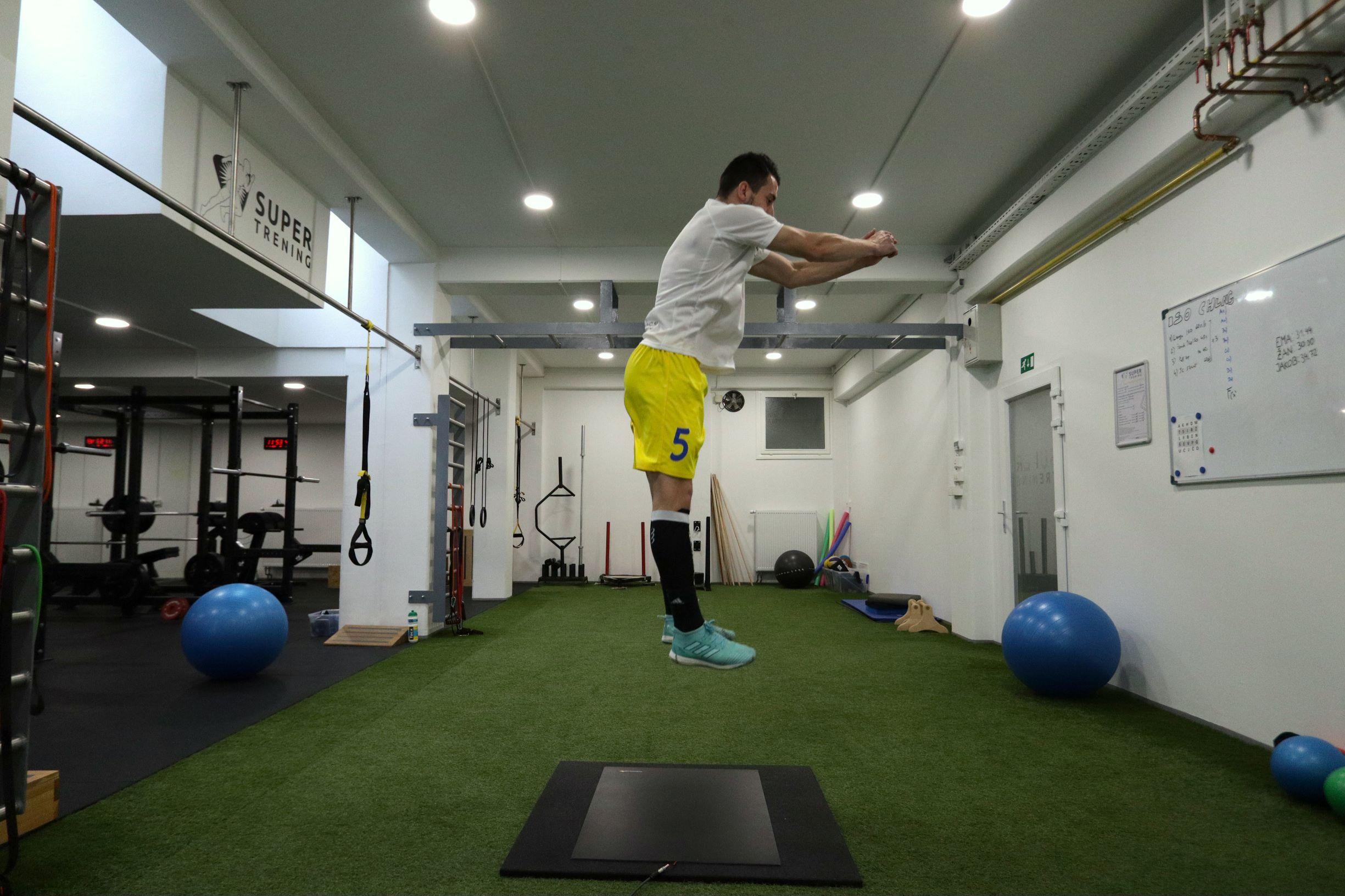vertical jump oziroma vertikalni skok